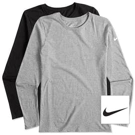 Nike Women's 100% Cotton Long Sleeve T-shirt