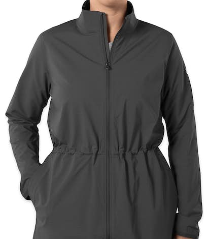 Under Armour Women's Cinched Windbreaker Jacket - Stealth Grey