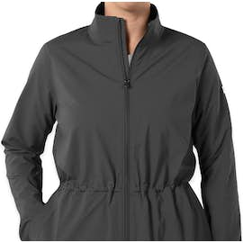 Under Armour Women's Cinched Windbreaker Jacket - Color: Stealth Grey