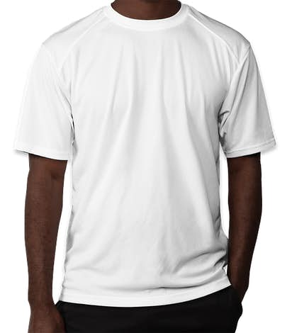 Badger B-Dry Performance Shirt - White