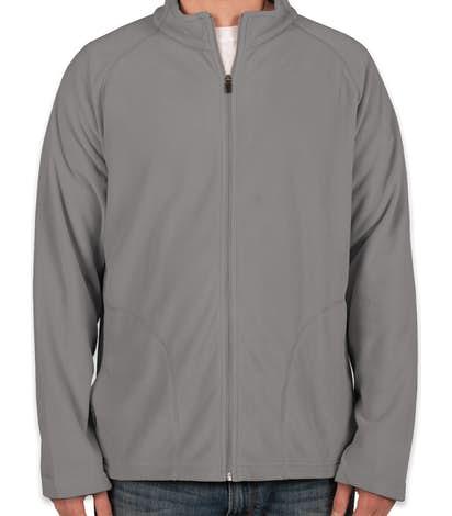 Team 365 Full Zip Microfleece Jacket - Sport Graphite