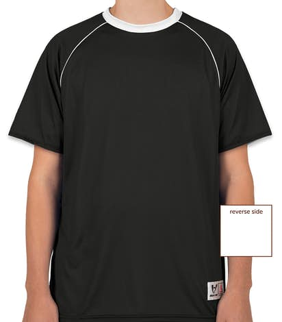 High Five Conversion Reversible Soccer Jersey - Black / White