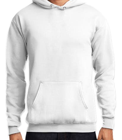 Port & Company Core Pullover Hoodie - White
