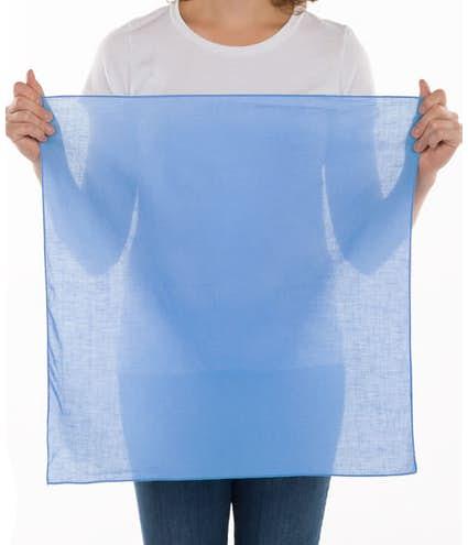 100% Cotton Solid Bandana (Centered Design)