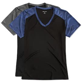 Sport-Tek Women's CamoHex Colorblock Performance Shirt