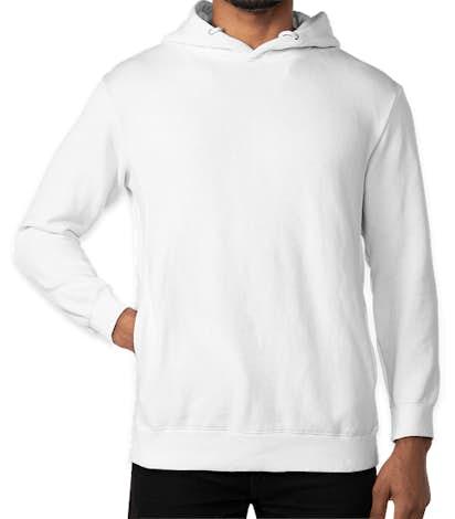Threadfast Ultimate Fleece Pullover Hoodie - White