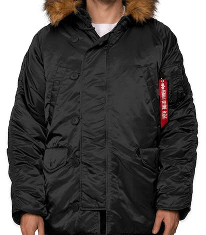 Alpha Industries N-3B Parka - Black
