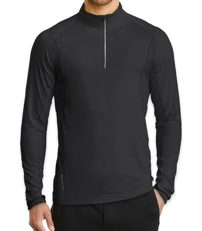 OGIO Endurance Nexus Quarter Zip Performance Shirt - Blacktop