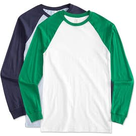 Bella + Canvas Long Sleeve Baseball Raglan