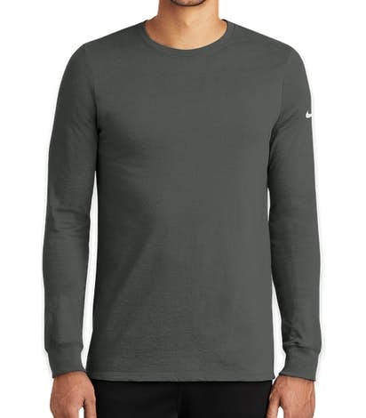 Nike Dri-FIT Long Sleeve Performance Blend Shirt - Anthracite
