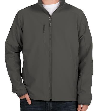 The North Face Tech Stretch Soft Shell Jacket - Asphalt Grey