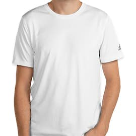 Adidas Solid 100% Recycled UPF Performance Shirt - Color: White