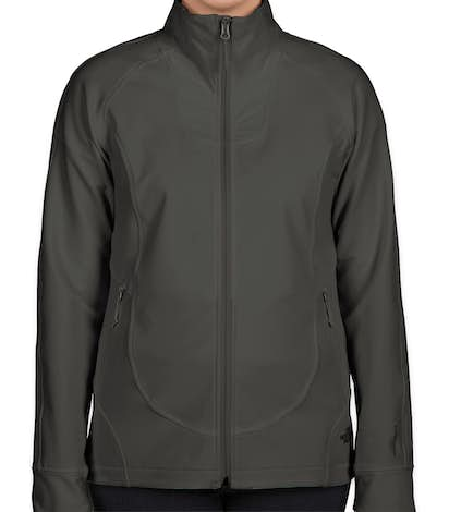 The North Face Women's Tech Stretch Soft Shell Jacket - Asphalt Grey