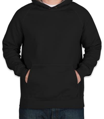 Hanes Nano Pullover Hoodie - Black