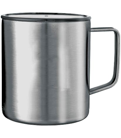 14 oz. Copper Vacuum Insulated Camper Mug - Silver
