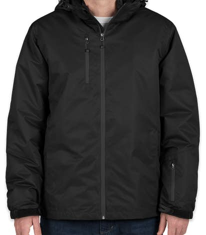 Port Authority 3-in-1 Waterproof Vortex System Jacket - Black / Black