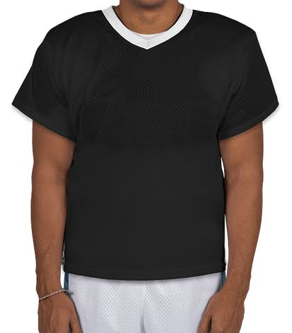 Augusta High Score Lacrosse Jersey - Black / White