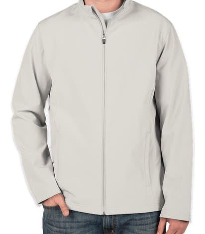 Team 365 Soft Shell Jacket - Sport Silver
