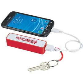 Jive 2,000 mAh Power Bank with Keychain