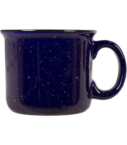 Ceramic Camper Mug Blue