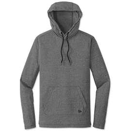 New Era Tri-Blend Long Sleeve Hooded Performance Shirt