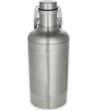 64 oz. Vacuum Growler - Silver