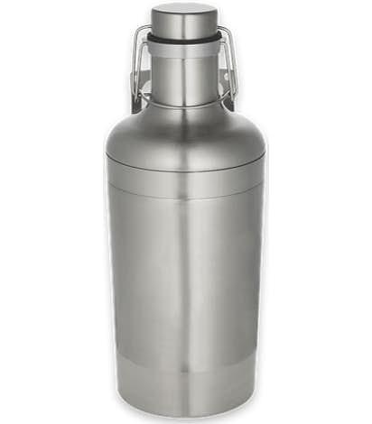 64 oz. Vacuum Growler - Silver