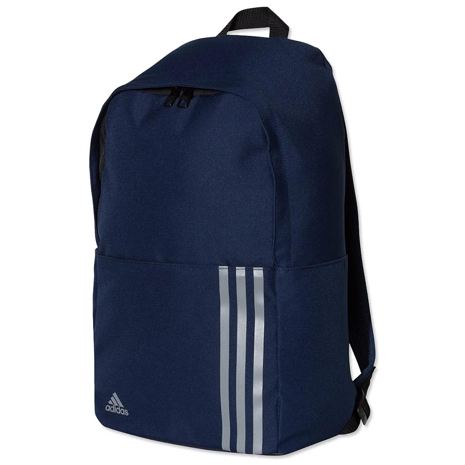 adidas Classic 3 Stripes Backpack Red, Black buy online
