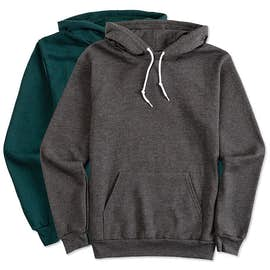American Apparel Flex Fleece Drop Shoulder Pullover Hoodie