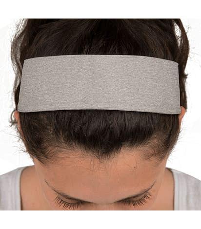 Sport-Tek Heather Contender Headband - Vintage Heather