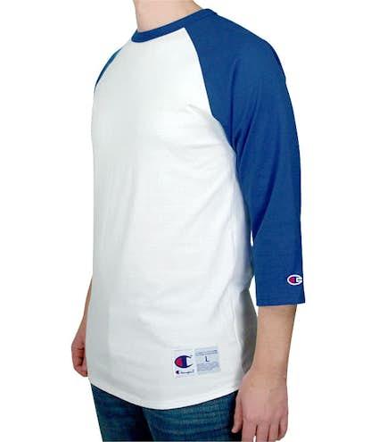 4ac1ef14 Design Custom Printed Champion Baseball Raglan Shirts Online at ...