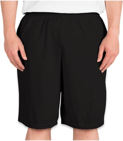 Augusta Performance Pocket Shorts - Black