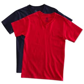 Canada - Fruit of the Loom 100% Cotton V-Neck T-shirt