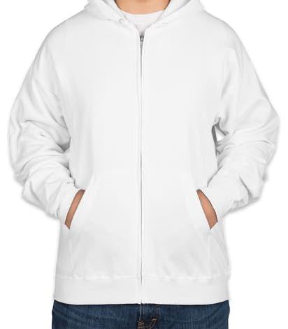 b066445aa2ec Custom Hanes EcoSmart® 50 50 Zip Hoodie - Design Full Zip ...