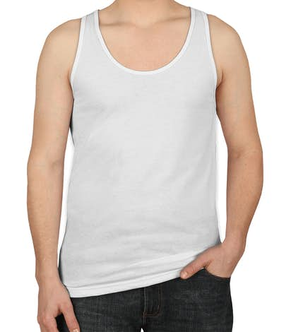 American Apparel 50/50 Tank - White