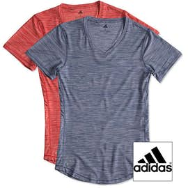 Adidas Women's Tech Heathered Performance Shirt