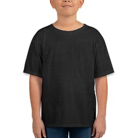 Bella + Canvas Youth Tri-Blend T-shirt - Color: Charcoal Black Tri-Blend