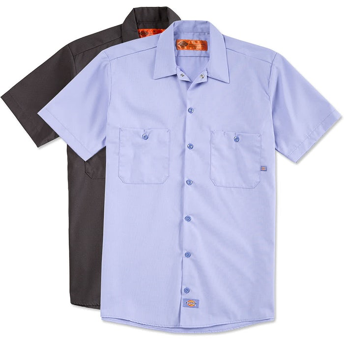 custom industrial work shirts custom embroidered work shirts