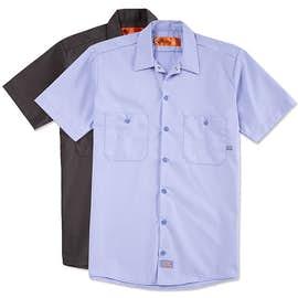 custom work t shirts custom button up work shirts
