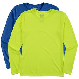 Gildan Women's Soft Jersey Long Sleeve Performance Shirt