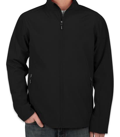 Core 365 Fleece Lined Soft Shell Jacket - Black