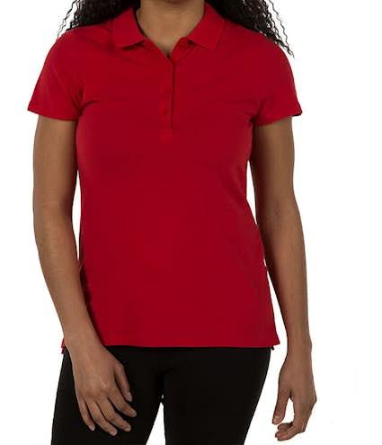 d43e6e563 Custom Tommy Hilfiger Women's Ivy Pique Polo - Design Women's Polos ...