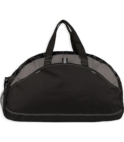 Contrast Duffel Bag - Black