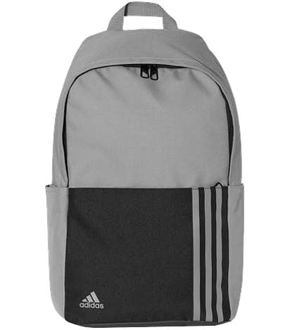 Adidas 3-Stripe Small Backpack - Grey