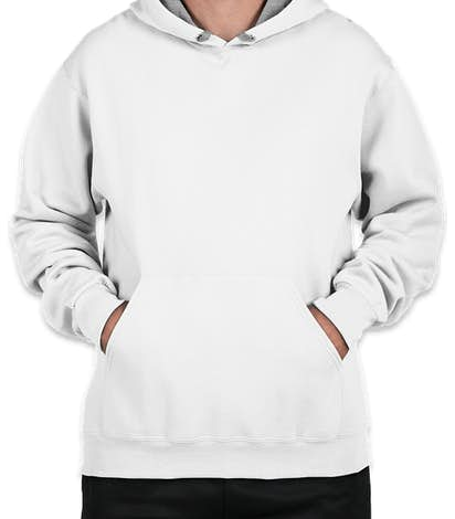 Fruit of the Loom Sofspun Pullover Hoodie - White