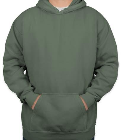Comfort Colors Hooded Sweatshirt - Blue Spruce