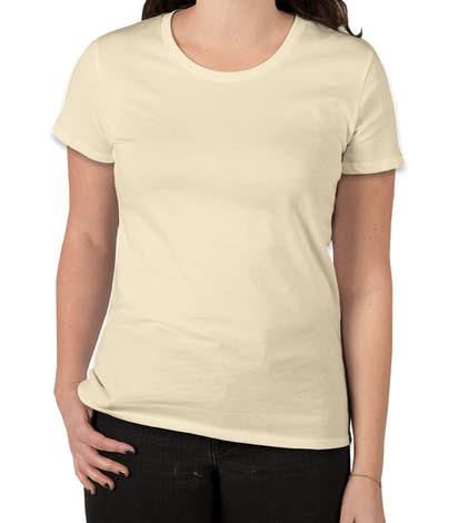 Royal Apparel Juniors Organic USA T-shirt - Natural