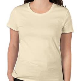 Royal Apparel Juniors Organic USA T-shirt - Color: Natural