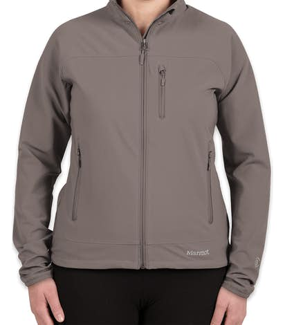 Marmot Women's Lightweight Tempo Soft Shell Jacket - Cinder