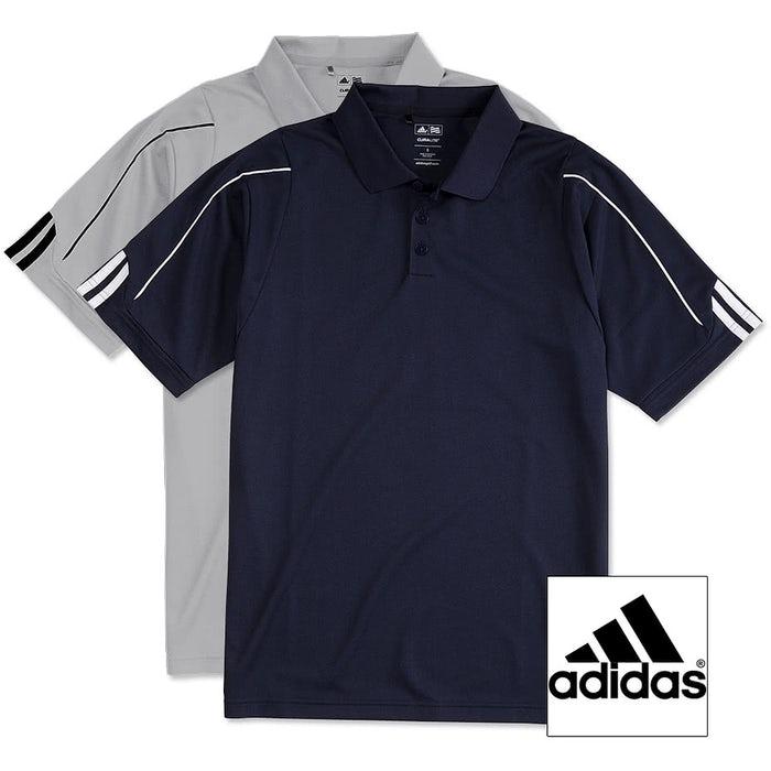 3ab6898dd0b25 Design Custom Embroidered Adidas ClimaLite Three Stripe Performance ...